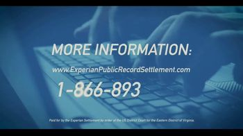 US District Court Eastern District of Virginia TV Spot, 'Experian Settlement' - Thumbnail 8