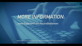 US District Court Eastern District of Virginia TV Spot, 'Experian Settlement' - Thumbnail 7