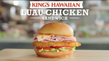 Arby's King's Hawaiian Luau Chicken Sandwich TV Spot, 'Maybe It's a Sign' Featuring H. Jon Benjamin, Song by YOGI - 1199 commercial airings
