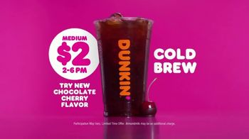 Dunkin' Donuts $2 Cold Brew TV Spot, 'Afternoon Drag' - Thumbnail 9