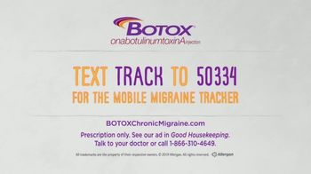 BOTOX TV Spot, 'Stand Up: Mobile Migraine Tracker' - Thumbnail 8