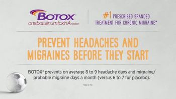 BOTOX (Migraine) TV Spot, 'Stand Up: Mobile Migraine Tracker'