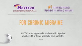 BOTOX TV Spot, 'Stand Up: Mobile Migraine Tracker' - Thumbnail 2
