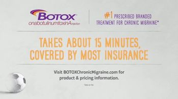 BOTOX TV Spot, 'Stand Up: Mobile Migraine Tracker' - Thumbnail 3