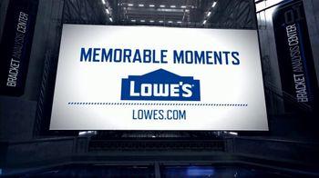 Lowe's TV Spot, 'CBS: Memorable Moments: 2010 Duke Blue Devils' - Thumbnail 9