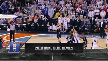 Lowe's TV Spot, 'CBS: Memorable Moments: 2010 Duke Blue Devils' - 1 commercial airings