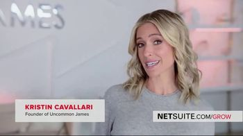 Oracle NetSuite TV Spot, 'Kristin Cavallari: Founder and CEO of Uncommon James' - Thumbnail 3