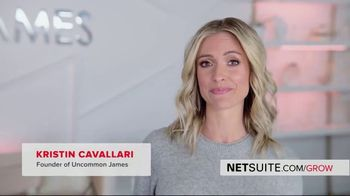 Oracle NetSuite TV Spot, 'Kristin Cavallari: Founder and CEO of Uncommon James'
