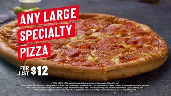 Papa John's Handcrafted Specialty Menu TV Spot, 'Six New Pizzas' - Thumbnail 9