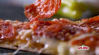 Papa John's Handcrafted Specialty Menu TV Spot, 'Six New Pizzas' - Thumbnail 7