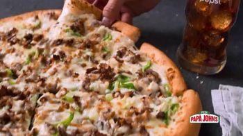 Papa John's Handcrafted Specialty Menu TV Spot, 'Six New Pizzas' - Thumbnail 8