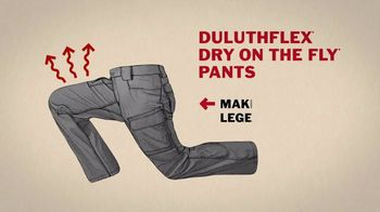 Duluth Trading Company Duluthflex Dry on the Fly Pants TV Spot, 'Nasty Nessie' - Thumbnail 9