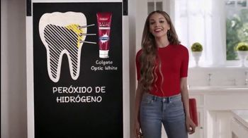 Colgate Optic White High Impact TV Spot, 'Cuatro tonos más blanco' con Leslie Grace [Spanish]