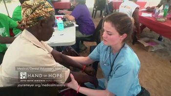 Joyce Meyer Ministries Hand of Hope TV Spot, 'We Need Your Help'