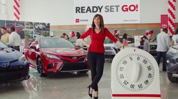 Toyota Ready Set Go! TV Spot, 'Have a Little More Time' [T2]