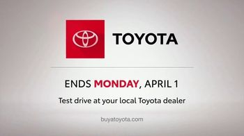 Toyota Ready Set Go! TV Spot, 'Have a Little More Time' [T2] - Thumbnail 5