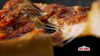 Papa John's Ultimate Pepperoni TV Spot, 'What You've Been Craving' - Thumbnail 7