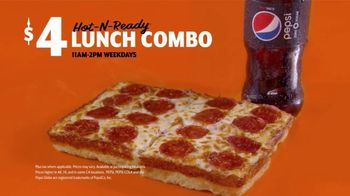 Little Caesars Pizza $5 Hot-N-Ready Lunch Combo TV Spot, 'Only $4 For a Limited Time' - Thumbnail 10