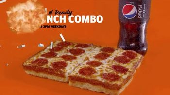 Little Caesars Pizza $5 Hot-N-Ready Lunch Combo TV Spot, 'Only $4 For a Limited Time' - Thumbnail 4