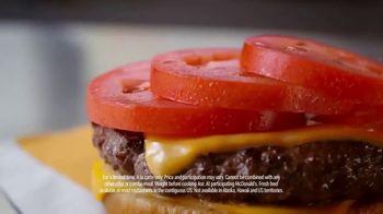 McDonald's Quarter Pounder Deluxe TV Spot, 'Fresh on Fresh' - Thumbnail 5