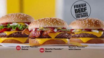 McDonald's Quarter Pounder Deluxe TV Spot, 'Fresh on Fresh' - Thumbnail 8