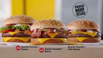 McDonald's Quarter Pounder Deluxe TV Spot, 'Fresh on Fresh' - Thumbnail 9