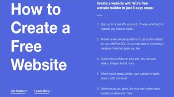 Wix.com TV Spot, 'Dish Nation: Grow Your Brand' - Thumbnail 4