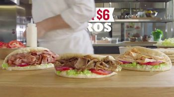 Arby's 2 for $6 Gyros TV Spot, 'Passion' Featuring H. Jon Bejamin, Song by YOGI - Thumbnail 6