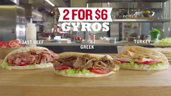 Arby's 2 for $6 Gyros TV Spot, 'Passion' Featuring H. Jon Bejamin, Song by YOGI - Thumbnail 7