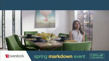 Overstock.com Spring Markdown Event TV Spot, 'Table Runner' - Thumbnail 4