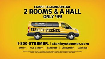 Stanley Steemer $99 Carpet Cleaning Special TV Spot, 'Spit Take: Two Rooms and a Hall' - Thumbnail 9