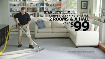 Stanley Steemer $99 Carpet Cleaning Special TV Spot, 'Spit Take: Two Rooms and a Hall' - Thumbnail 7