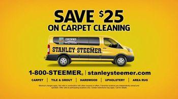 Stanley Steemer TV Spot, 'Spit Take: Save $25' - Thumbnail 8