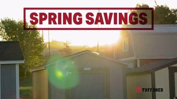 Tuff Shed Spring Savings TV Spot, 'Backyard Season' - Thumbnail 7