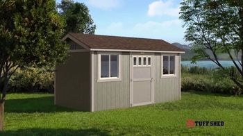 Tuff Shed Spring Savings TV Spot, 'Backyard Season' - Thumbnail 8