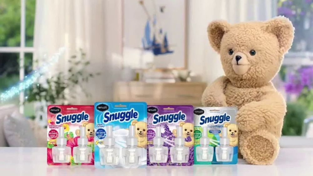 Renuzit Snuggle Air Fresheners Tv Commercial Smell Good