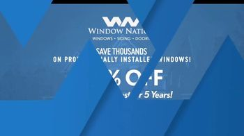 Window Nation TV Spot, 'We Have Your Back: Half Off' - Thumbnail 10