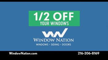 Window Nation TV Spot, 'We Have Your Back: Half Off' - Thumbnail 3