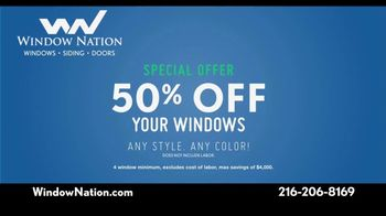Window Nation TV Spot, 'We Have Your Back: Half Off' - Thumbnail 6