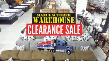 American Freight Manufacturer Warehouse Clearance Sale TV Spot, 'Take it Home Today'