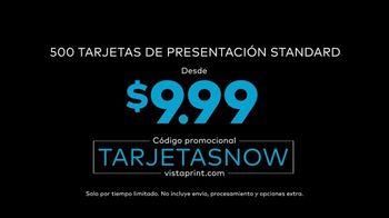 Vistaprint TV Spot, 'Own the Now: tarjetas now' canción de Norman [Spanish] - Thumbnail 4