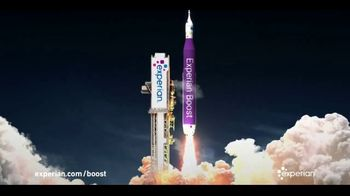 Experian Boost TV Spot, 'Launch Rocket: Liftoff'