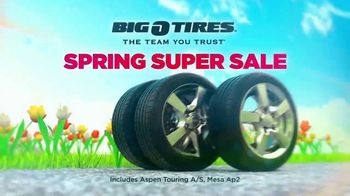 Big O Tires Spring Super Sale TV Spot, 'Buy Three, Get One Free' - Thumbnail 3