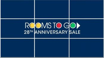 Rooms to Go Anniversary Sale TV Spot, 'Sectional and Matching Ottoman' - Thumbnail 2