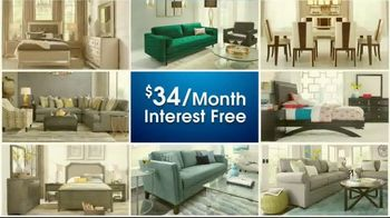 Rooms to Go Anniversary Sale TV Spot, 'Sectional and Matching Ottoman' - Thumbnail 3