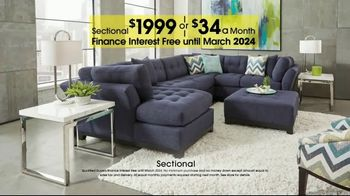Rooms to Go Anniversary Sale TV Spot, 'Sectional and Matching Ottoman' - Thumbnail 6