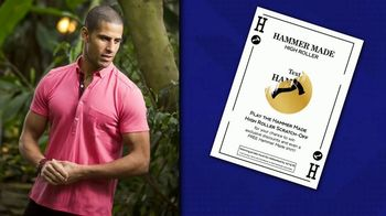 Hammer Made High Roller TV Spot, 'Free Shirt'