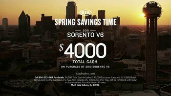 Kia Spring Savings Time TV Spot, 'Quality: The Kia Badge' [T2] - Thumbnail 8