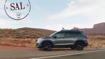 2019 Honda Passport Elite TV Spot, 'Destino: tus aventuras' [Spanish] [T1] - Thumbnail 2