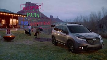 2019 Honda Passport Elite TV Spot, 'Destino: tus aventuras' [Spanish] [T1] - Thumbnail 7